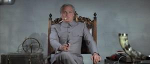 Blofeld Diamonds are Forever holding gun