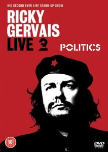 Politics Ricky Gervais