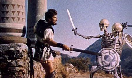 Jason and the Argonauts Skeleton Battle