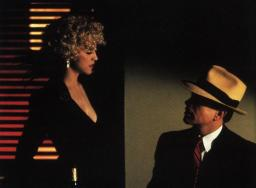 DICK TRACY, Madonna, Warren Beatty, 1990